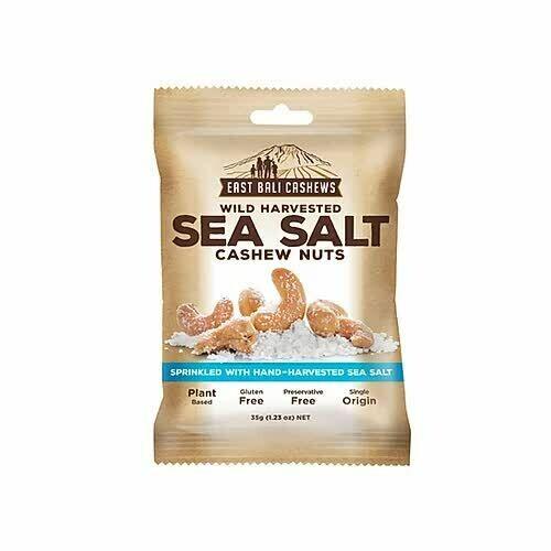 CASHEW NUTS - SEA SALT 35g