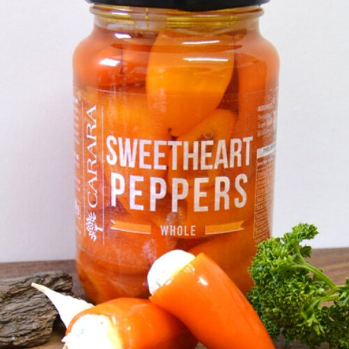 Peppers - Sweetheart pickled 400g