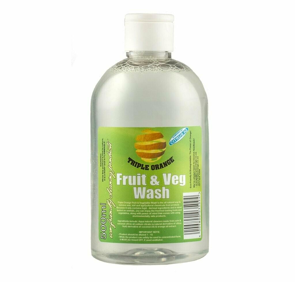 Triple Orange Fruit & Veg Wash 500ml