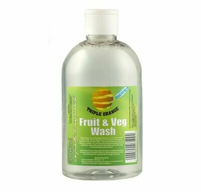 Triple Orange Fruit & Veg Wash 500ml