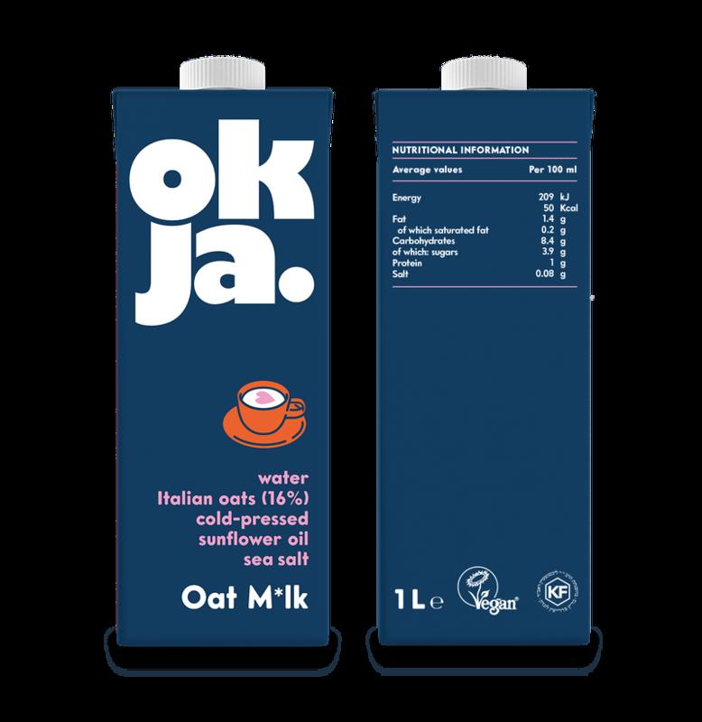 Okja Oat Milk- 1L