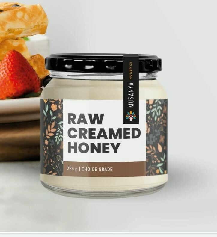 Musanya Raw Creamed Honey 325g