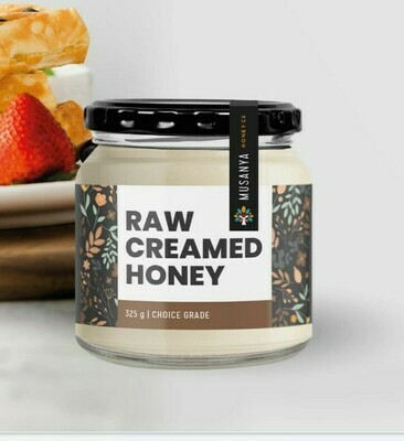 Musanya Raw Creamed Honey 325g