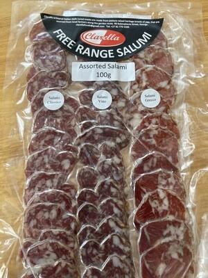 Clarella - Assorted Salami 100g