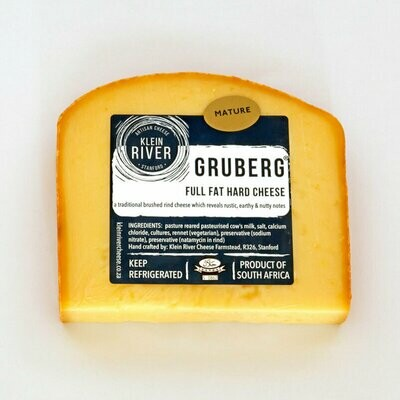 Cheese- Gruberg Matured