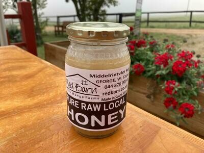 Honey - 500ml Raw, local, unheated, glass bottle