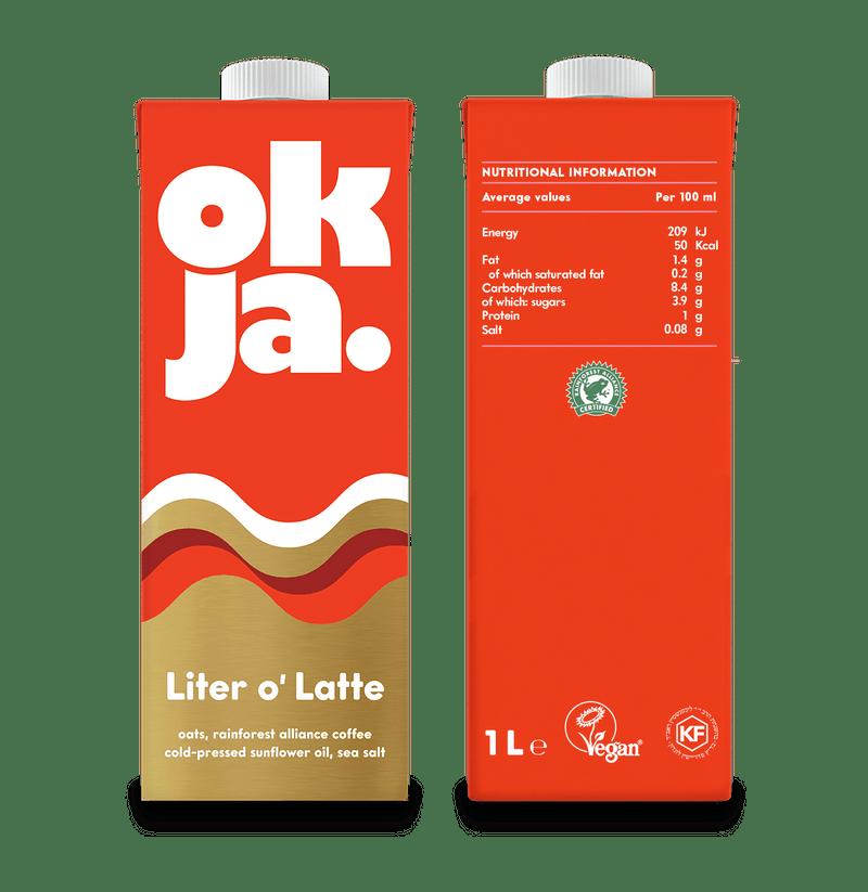 Okja Coffee Oak Milk 1L