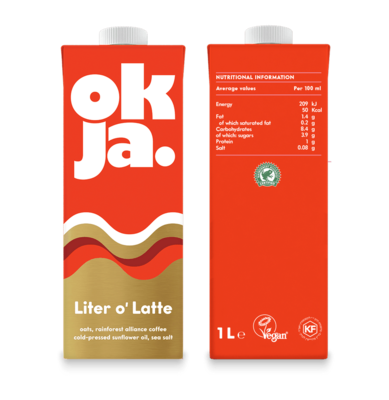 Okja Coffee Oak Milk 1L
