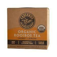 Cederbos Organic Honey and Lemon Rooibos Tea