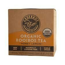 ​Cederbos Organic Honey and Lemon Rooibos Tea