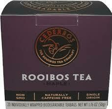 ​Cederbos Organic Maple & Walnut Rooibos Tea