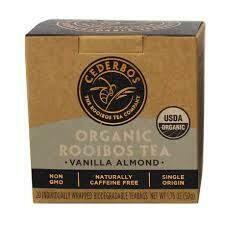 Cederbos Organic Vanilla and Almond Rooibos Tea