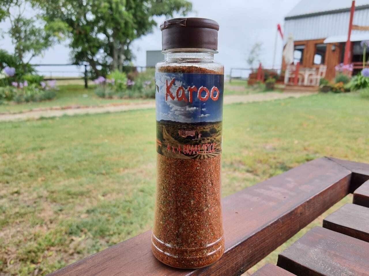 4 x 4 Karoo Braai Spice  - 325ml