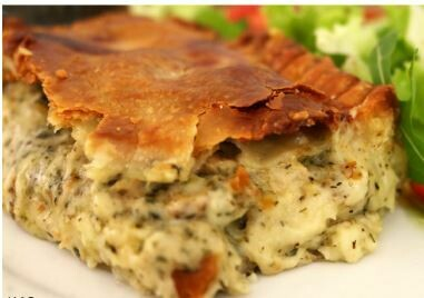 Creamy Chicken Lemon & Herb Pie - 1kg