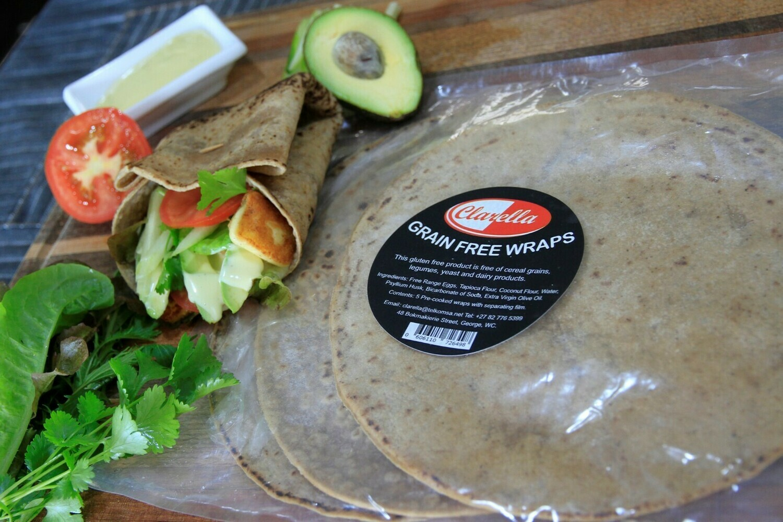 Wraps- Gluten Free 450g