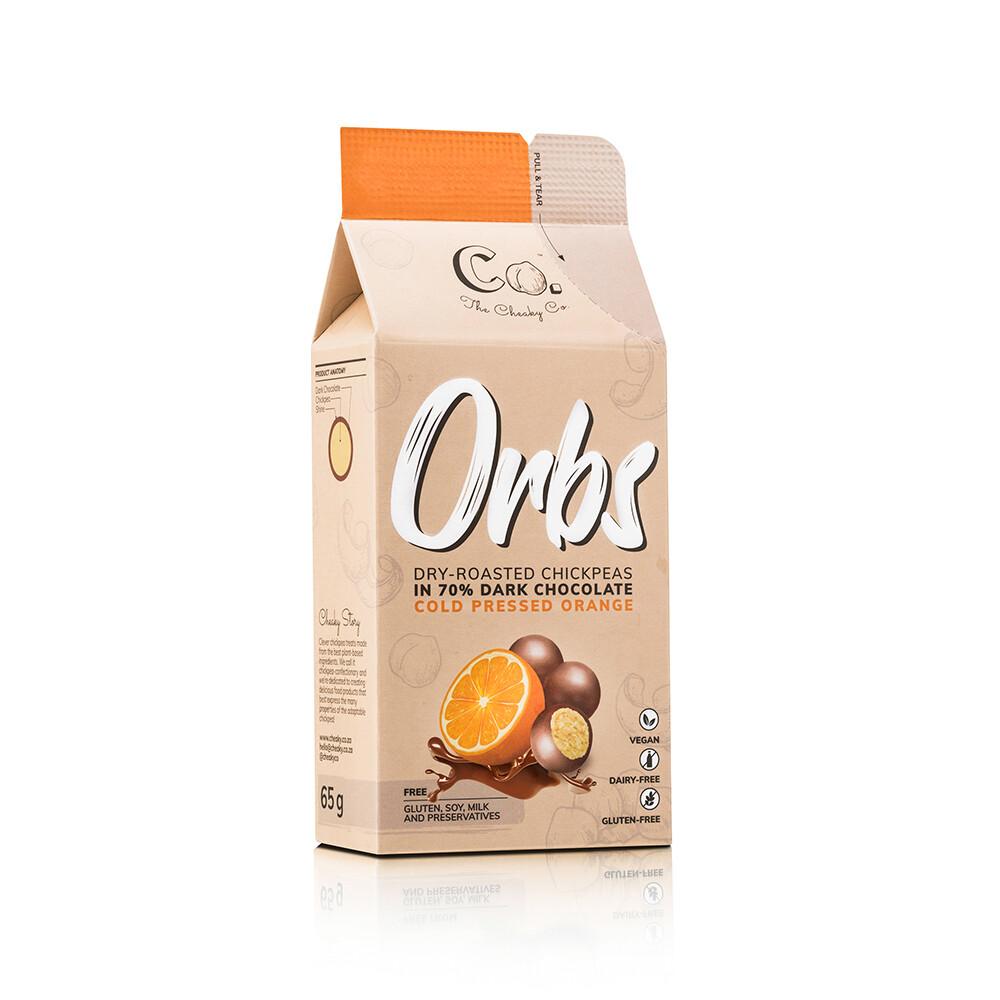 Cheaky Co. Choc Orange Orbs 65g