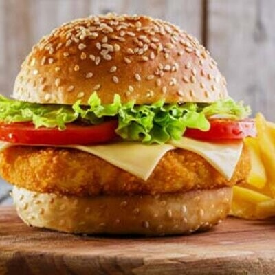 Crumbed Chicken Burgers 2 Pack