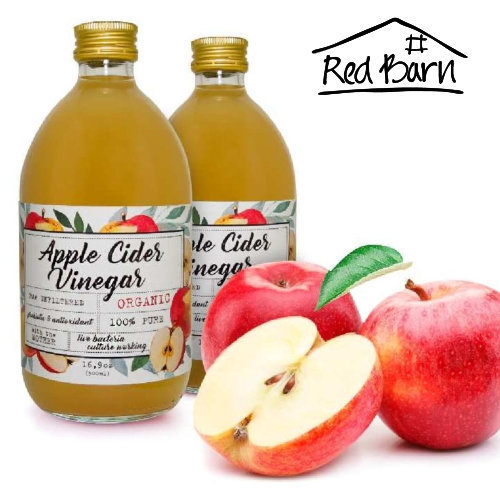 Apple Cider Vinegar Raw Organic - 500ml