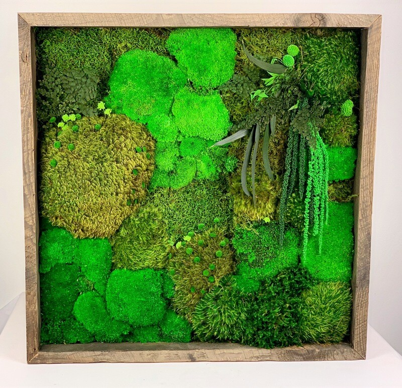 Reclaimed Wood Frame