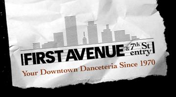 Sat Mar 13 - Minneapolis, MN - First Avenue - (Will Call Tickets)