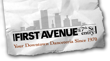 Sat Mar 13 - Minneapolis, MN - First Avenue - (Will Call Tickets)