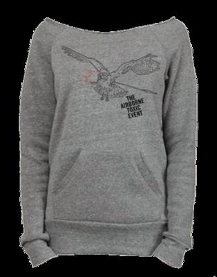 Gray Girls Off The Shoulder Sweatshirt