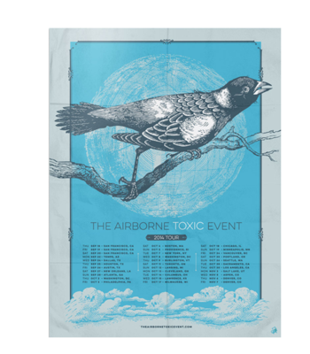 2014 North America Tour Poster