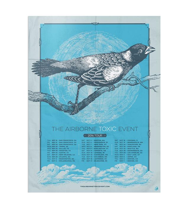 2014 North America Tour Poster