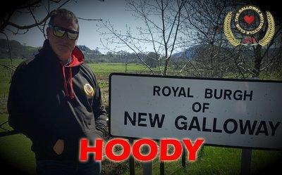 Black Galloway Club Hoodie