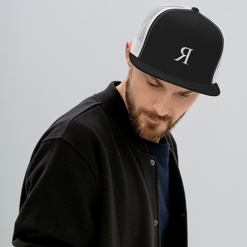"Colin Rich ""BACKWARDS"" Trucker Cap"