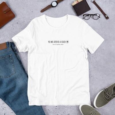Yo me Atrevo a Vivir | T-shirt Viajera