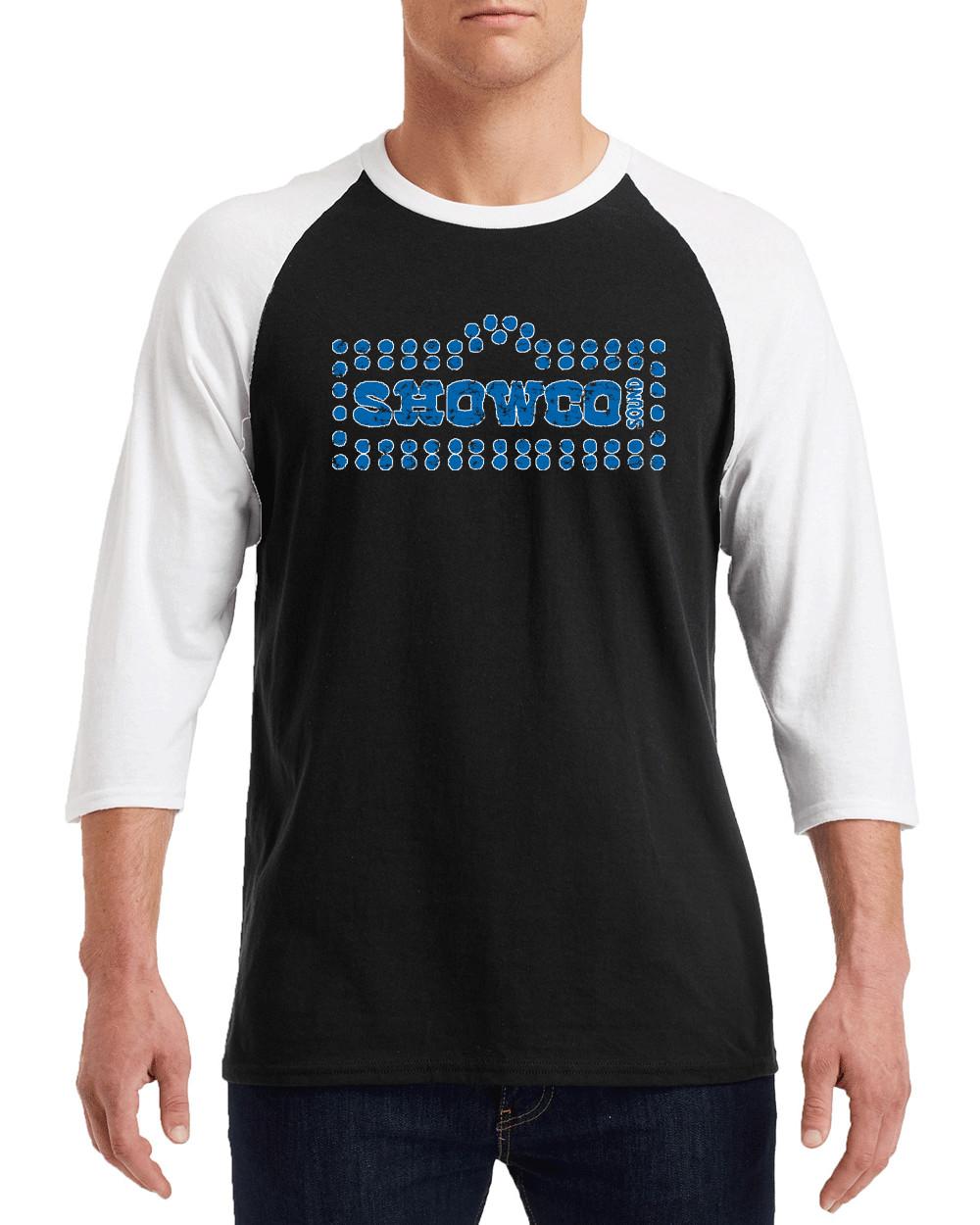 """SHOWCO LYNYRD SKYNYRD BLUE Logo Gildan G570 3/4 Sleeve Shirt """"FREE SHIPPING"""""""