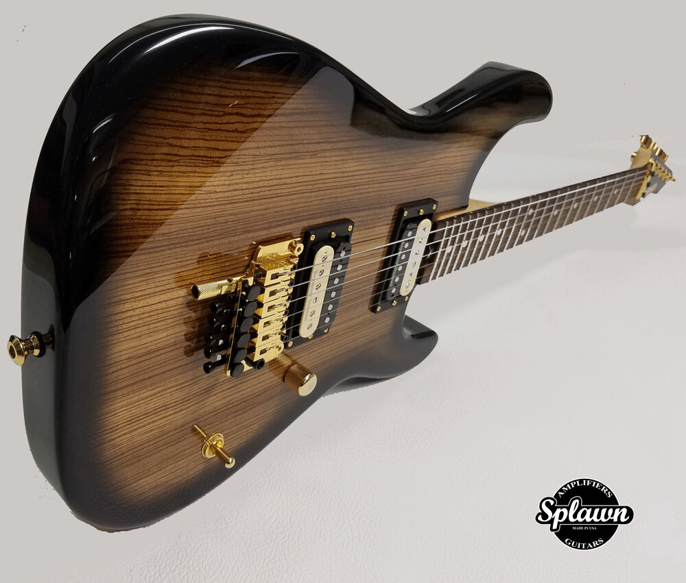 Splawn SS2 Guitar Zebrawood Black Burst