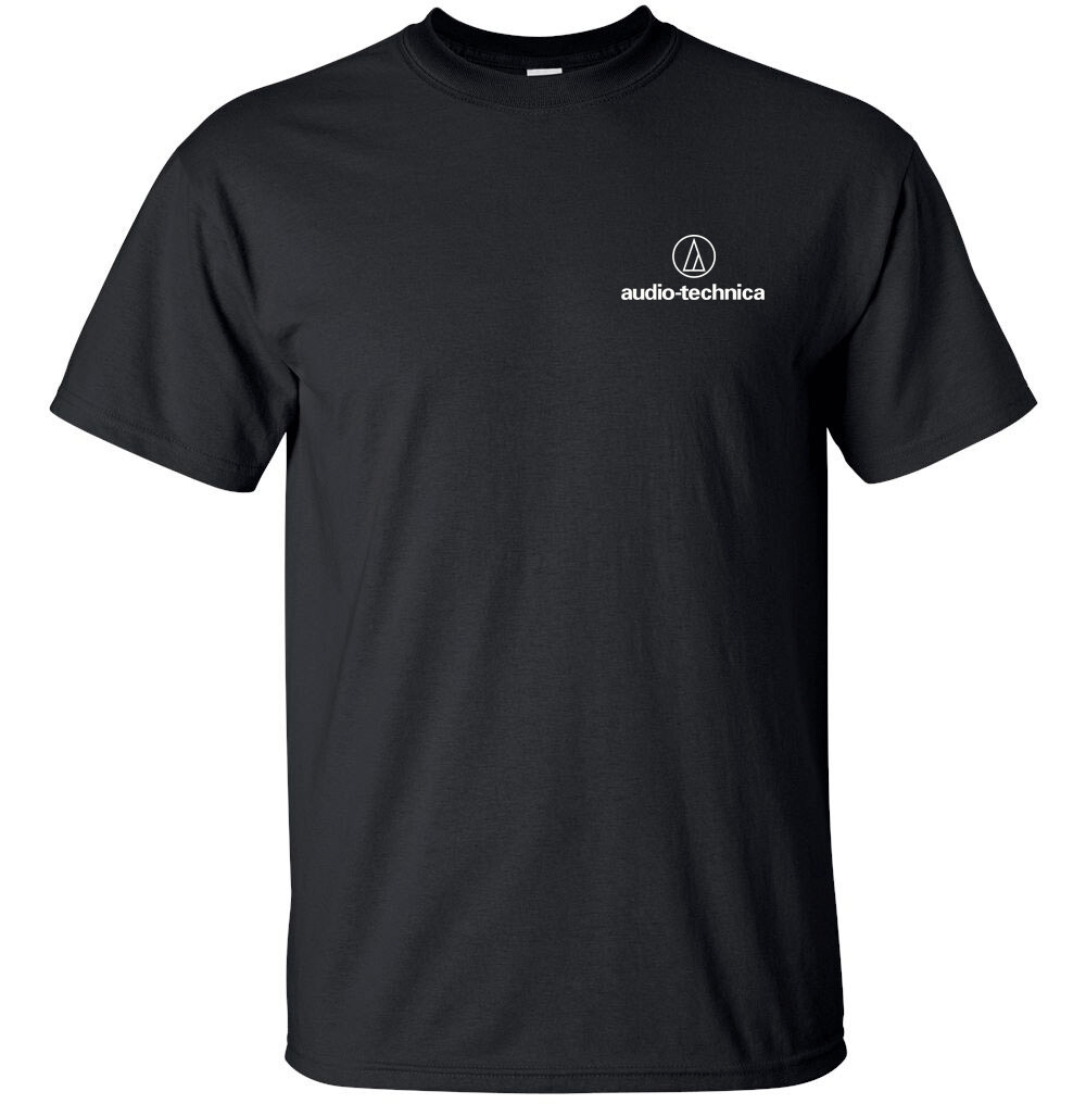 "Audio Technica Logo T-shirt Gildan ""FREE SHIPPING"""