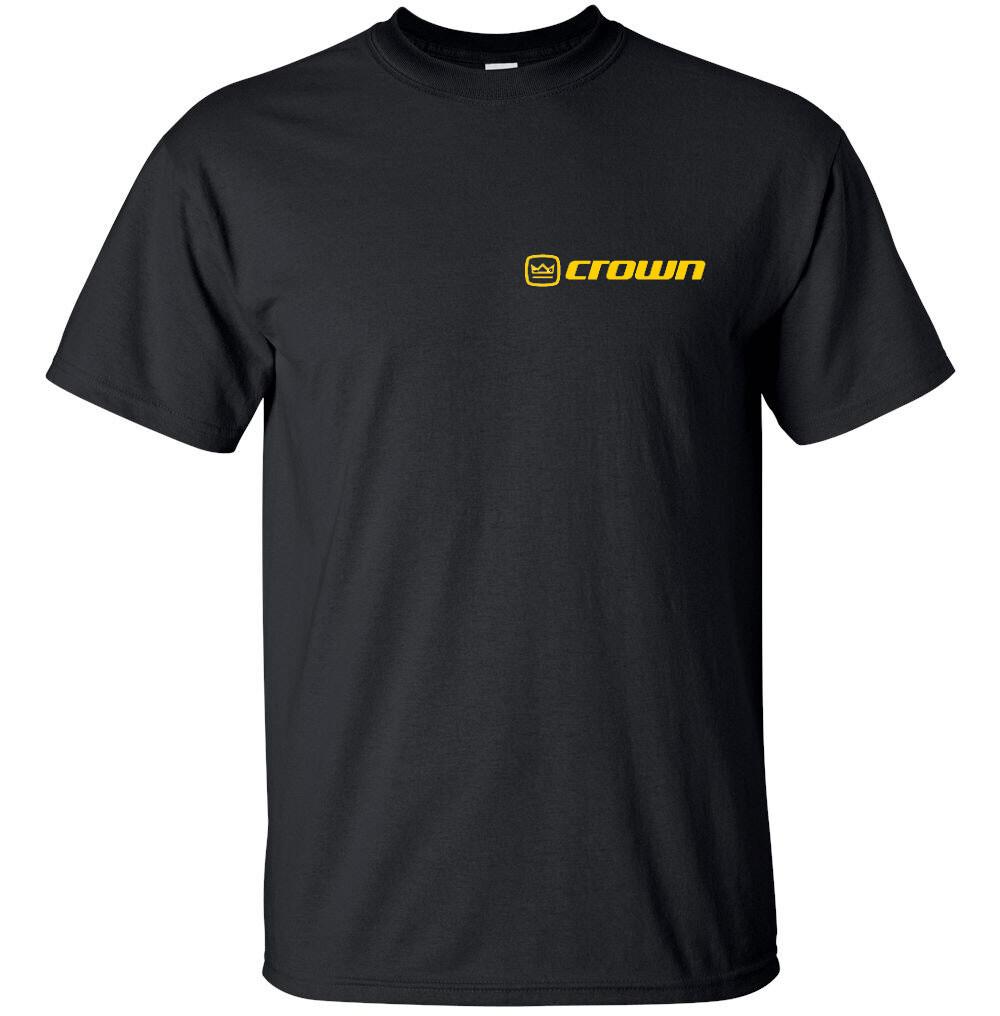 """Crown Audio Logo T-shirt Gildan """"FREE SHIPPING"""""""