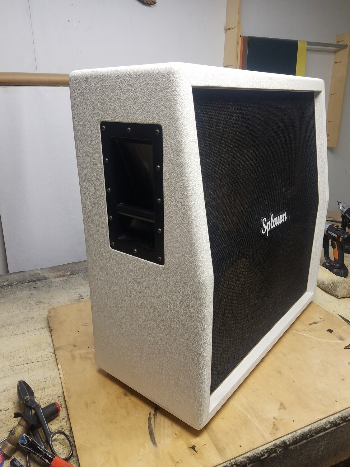 Splawn 4-12 Slant Speaker Cab Scratch and Dent $650.00 + Shipping