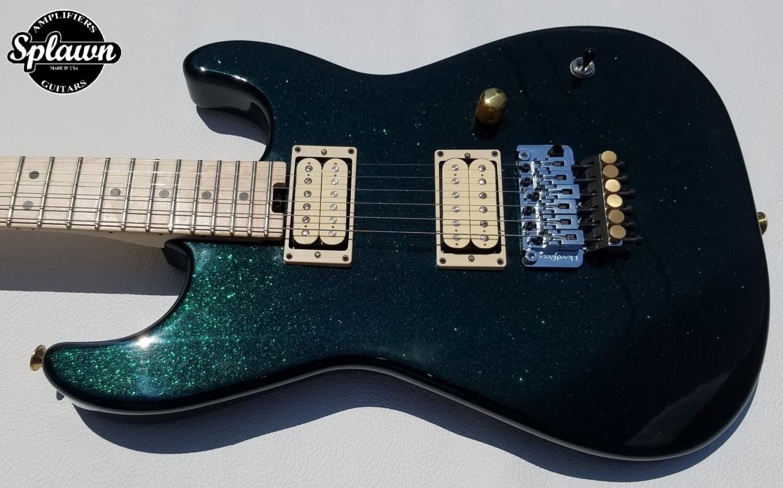 Splawn SS1 Guitar Emerald Green Sparkle