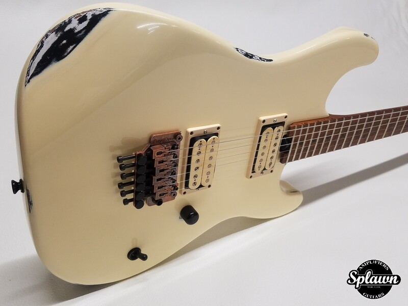 Splawn SS1 Guitar Kasmir over Black Nitro Relic