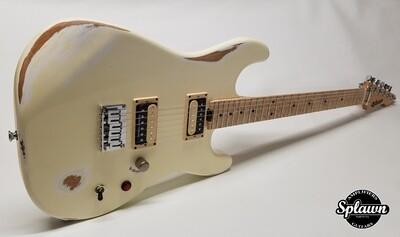 Splawn SS1 Guitar Aged White Nitro Relic