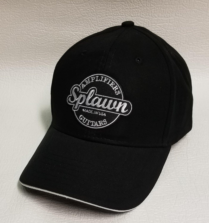 Big Accessories BX004 6-Panel Twill Sandwich Baseball Cap with Splawn logo