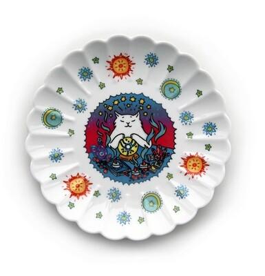 Тарелка декоративная «Кот-медиум» (Уценка)