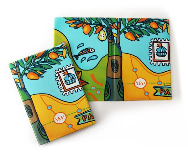 """Обложка для паспорта """"Чудо-дерево"""""""