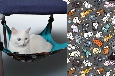 Гамак для кошек на ножки стула