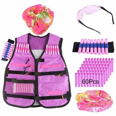 Kids Battle Zone Tactical Kit - Pink