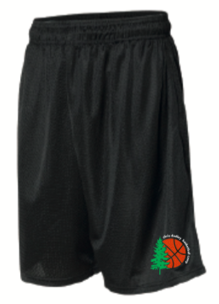 CDBC Basketball Shorts w/ Pockets! (Black)