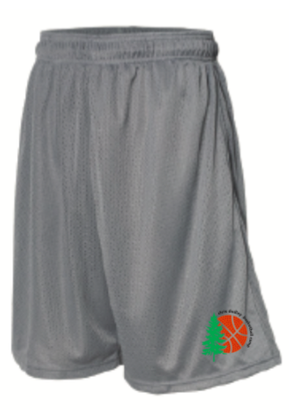 CDBC Basketball Shorts w/ Pockets! (Grey)