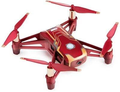Ryze Tello Iron Man Edition, powered by DJI - droon, Stark punane, 480704