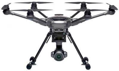 Yuneec Typhoon H Plus RealSense droon, YUNTYHPRBPEU