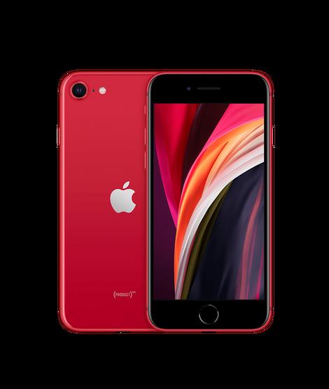 Apple iPhone SE 2020 , punane
