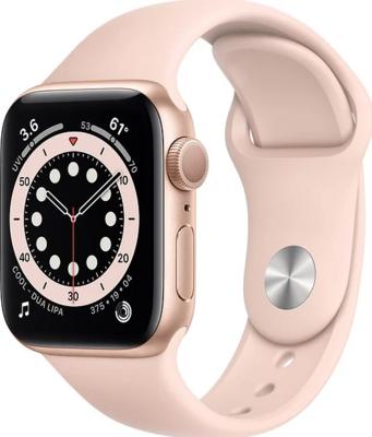 Apple Watch Series 6 Alumiinium, liivaroosa kellarihm